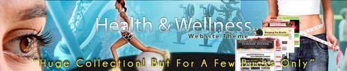 HUGE-Health & Wellness Website Theme (COMBO)