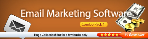 Product picture (COMBO PACK) Email Marketing Software (Combo Pack 1)